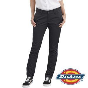 Dickies Women's Straight Flex Twill Pant Pants 0
